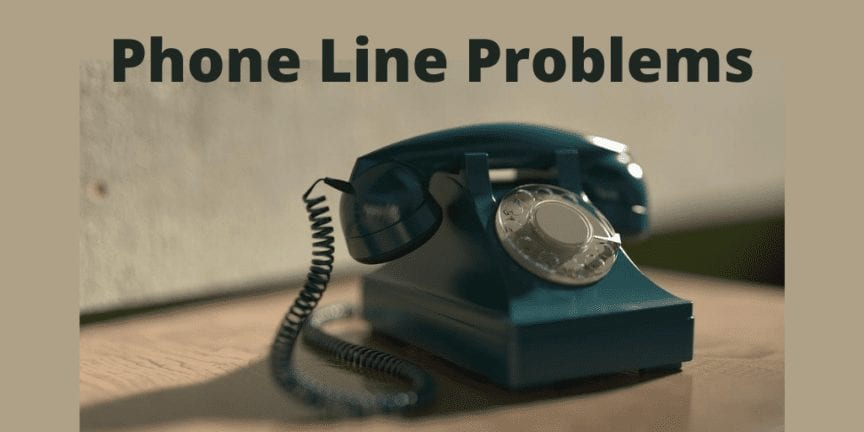 Telephone system down